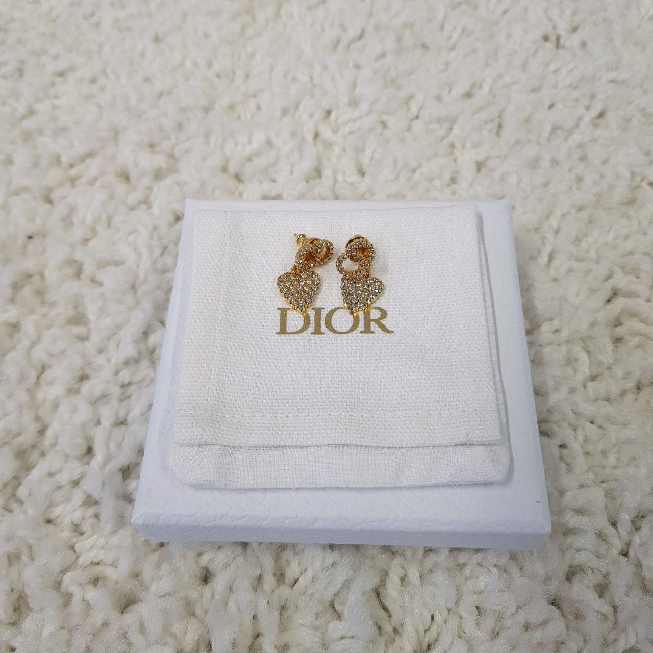 Dior Claire D Lune Earrings E1146CDLCY_D301