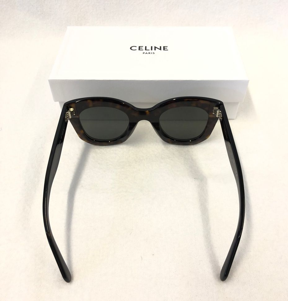 Celine Butterfly Sunglasses in Acetate Brown Classic Dark Havana 4S005CPLB.19HD_1_FAWI18_81989