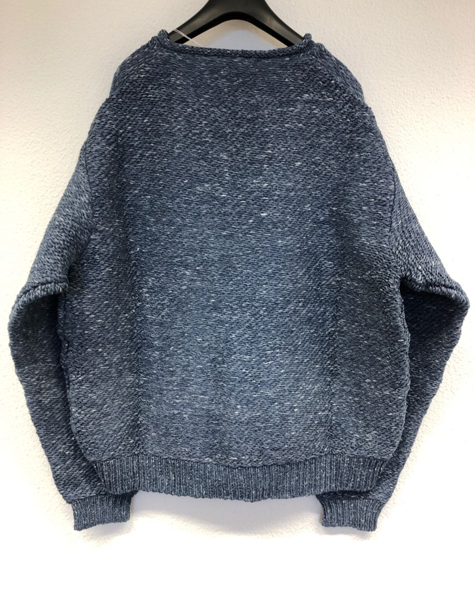 Acnestudios Chunky knit sweater - denim blue B60095-822