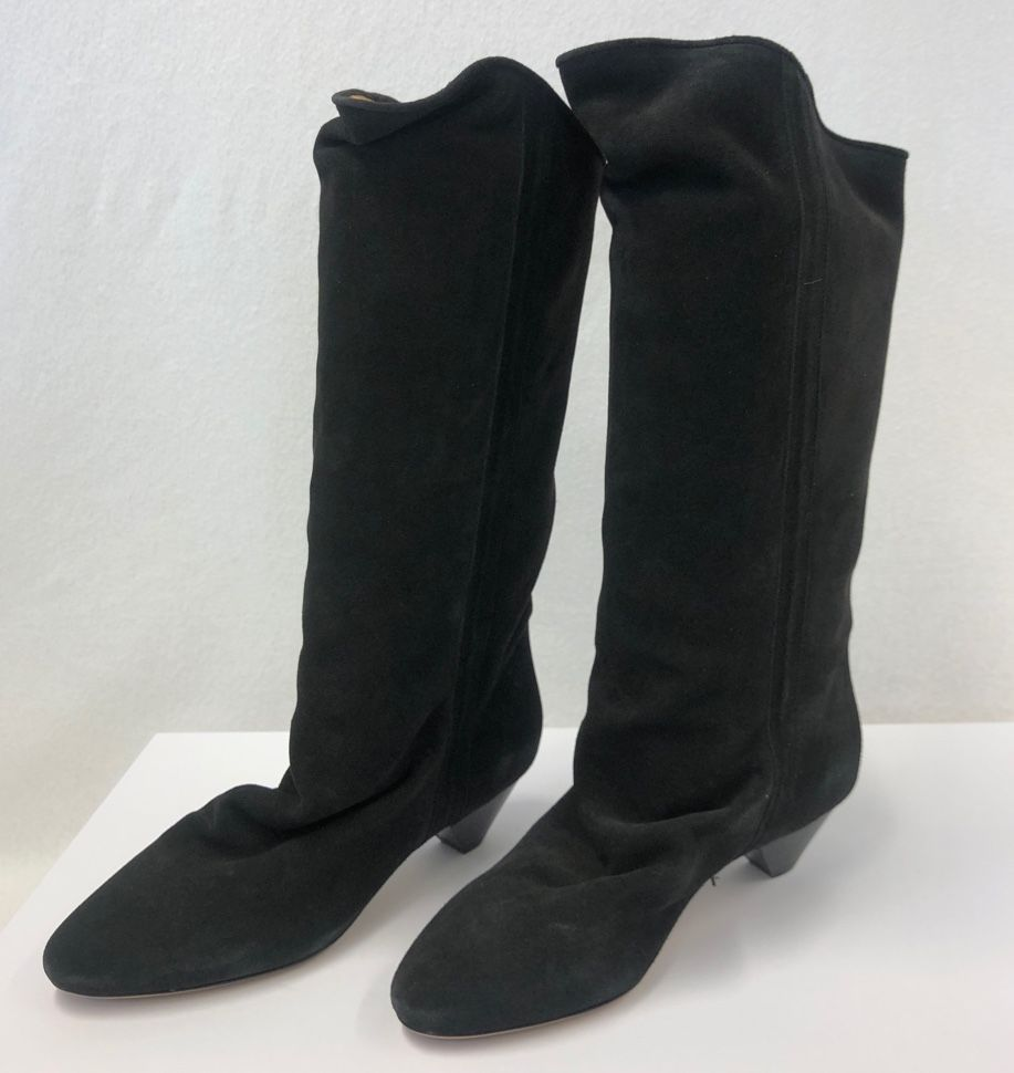 Isabel Marant Dathys slouchy suede boots P00488788