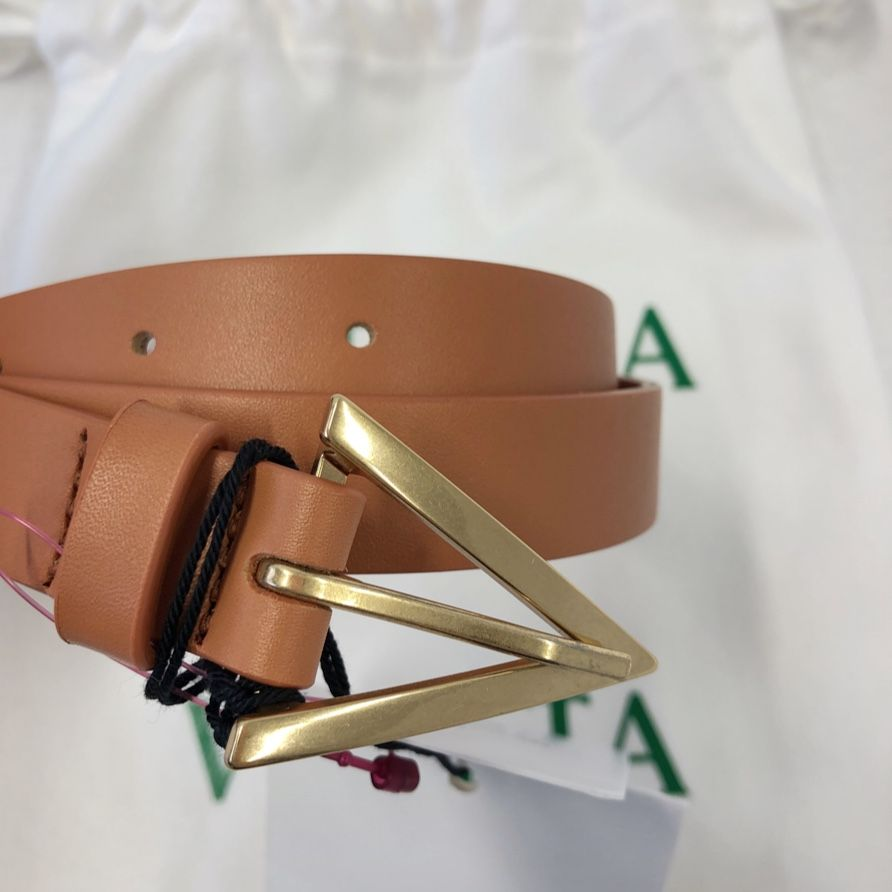 Bottega Veneta Leather belt P00483108